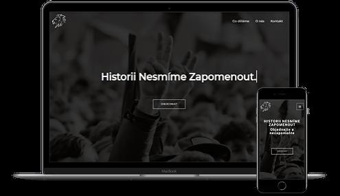 web o historii Winton