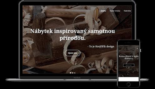 web pro designové studium krecirikdesign